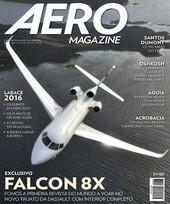 Capa Revista AERO Magazine 268 - Exclusivo Falcon 8X