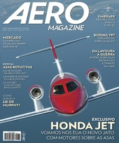 Capa Revista AERO Magazine 274 - Exclusivo Honda Jet