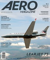 Capa Revista AERO Magazine 280 - Learjet 75