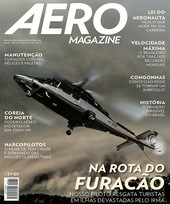 Capa Revista AERO Magazine 281 - Na rota do furacão