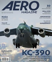Capa Revista AERO Magazine 294 - KC-390