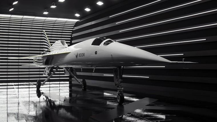 XB-1 é o primeiro avião supersônico civil após o Concorde