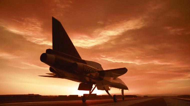 XB-1 é um validador de tecnologia para aeronave supersônica